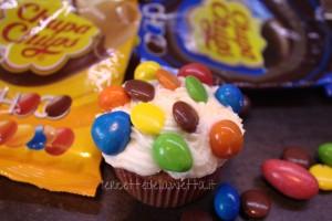 Chupa Chups Choco Cupcake