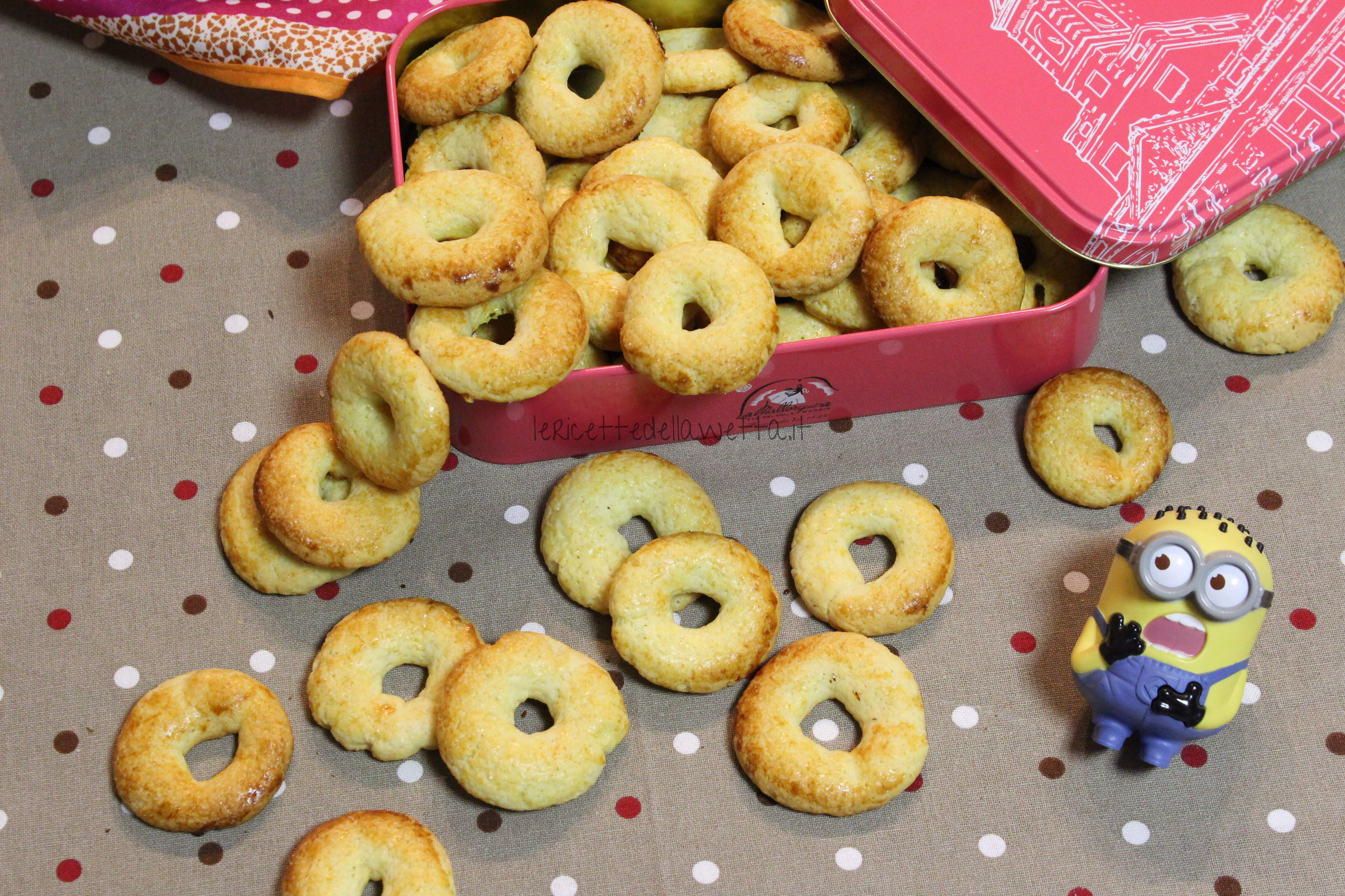 Ciambelline Biscottate