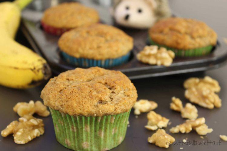 Muffin banana e noce