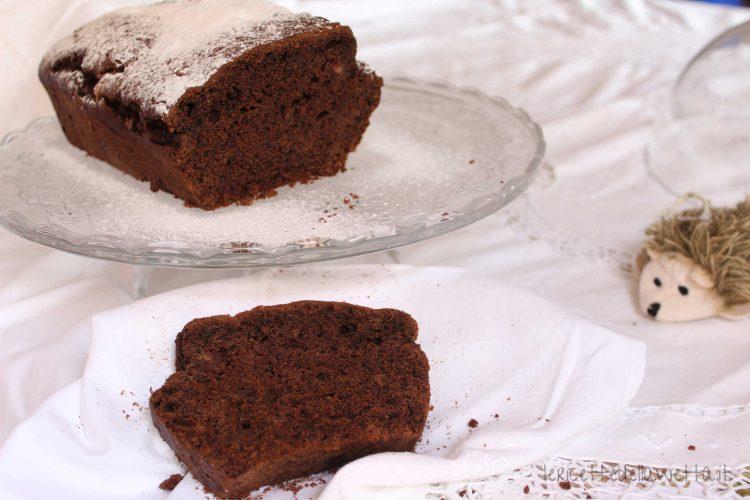 Plumcake cioccolato senza uova e burro