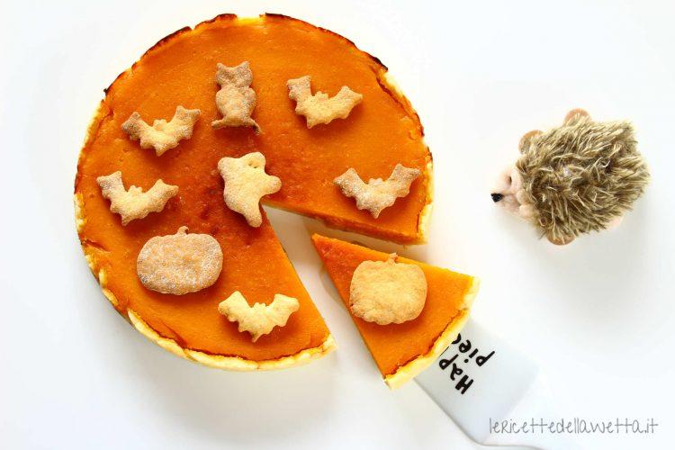 Torta di zucca di Halloween_Pumpkin pie