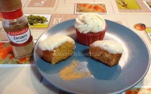 cupcakes allo zenzero