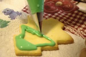 decorazione biscotti di natale