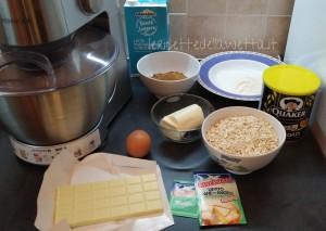 ingredienti biscotti avena