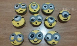 Minions cupcakes alla banana