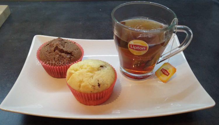 Muffin bigusto ai due cioccolati