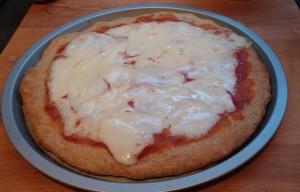 preparazione pizza integrale 8